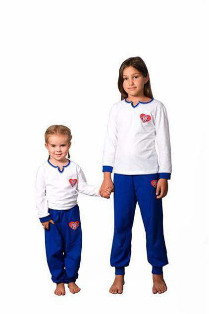 Picture of Pajamas for girls (winter) - Outlet