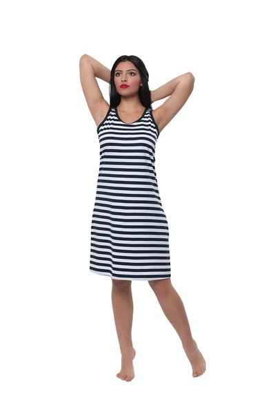 Picture of Women's dress with wide straps