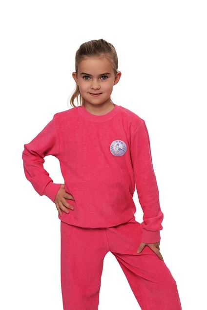 Picture of Girl's long sleeves pajamas