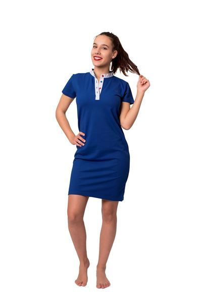 Picture of Women's polo pique short sleeves dress-Outlet
