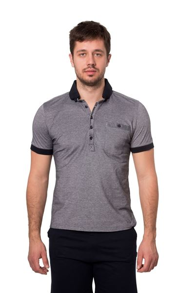 Picture of Men's polo pique shirt-Outlet