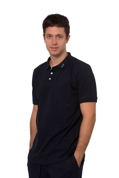 Picture of Men's polo pique shirts short sleeves-Outlet