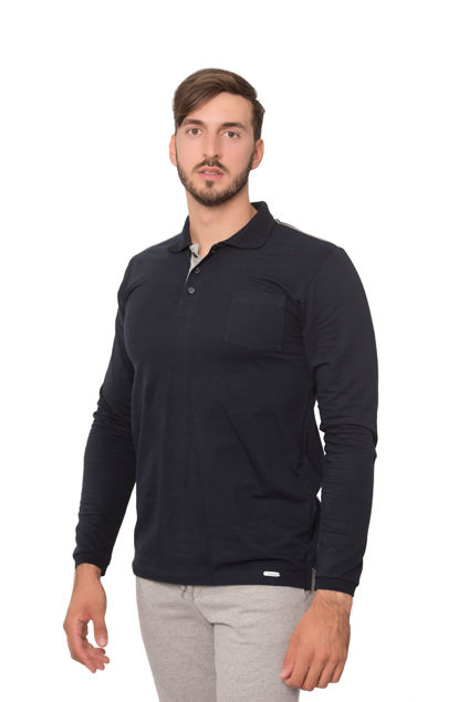 Picture of Men's polo  long sleeves shirt - Outlet