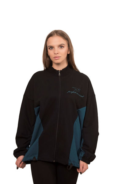 Picture of Women's cotton shirt with zipper - Outlet