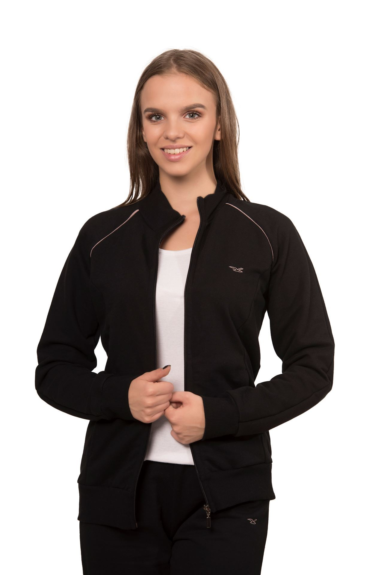 Picture of Women's cotton shirt with zipper