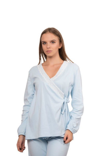 Picture of  Pajamas overlapping for pregnant woman - Outlet
