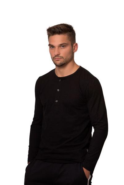 Picture of Muška majica dugih rukava s gumbima - Outlet
