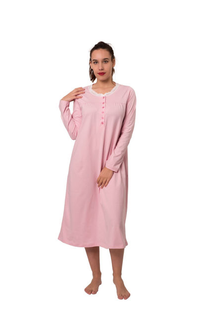 Picture of Women's nightdress long sleeves - Outlet