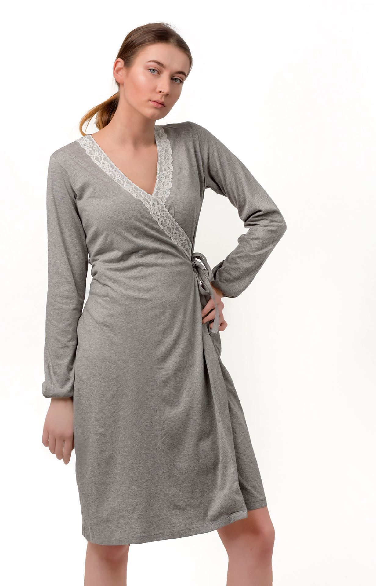 Picture of Night dress overlapping for pregnant woman
