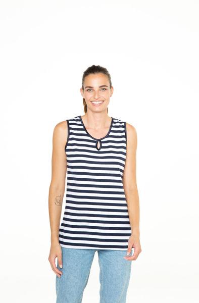 Picture of Ženska majica mornar bez rukava