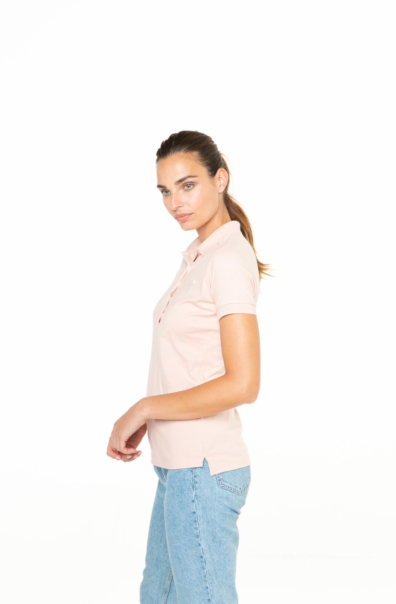 Picture of Women's polo short sleeves shirt