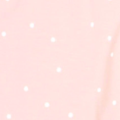 Powder pink / White dots (8014)