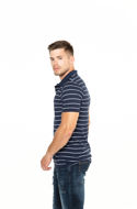 Picture of Muška polo majica kratkih rukava na prugice