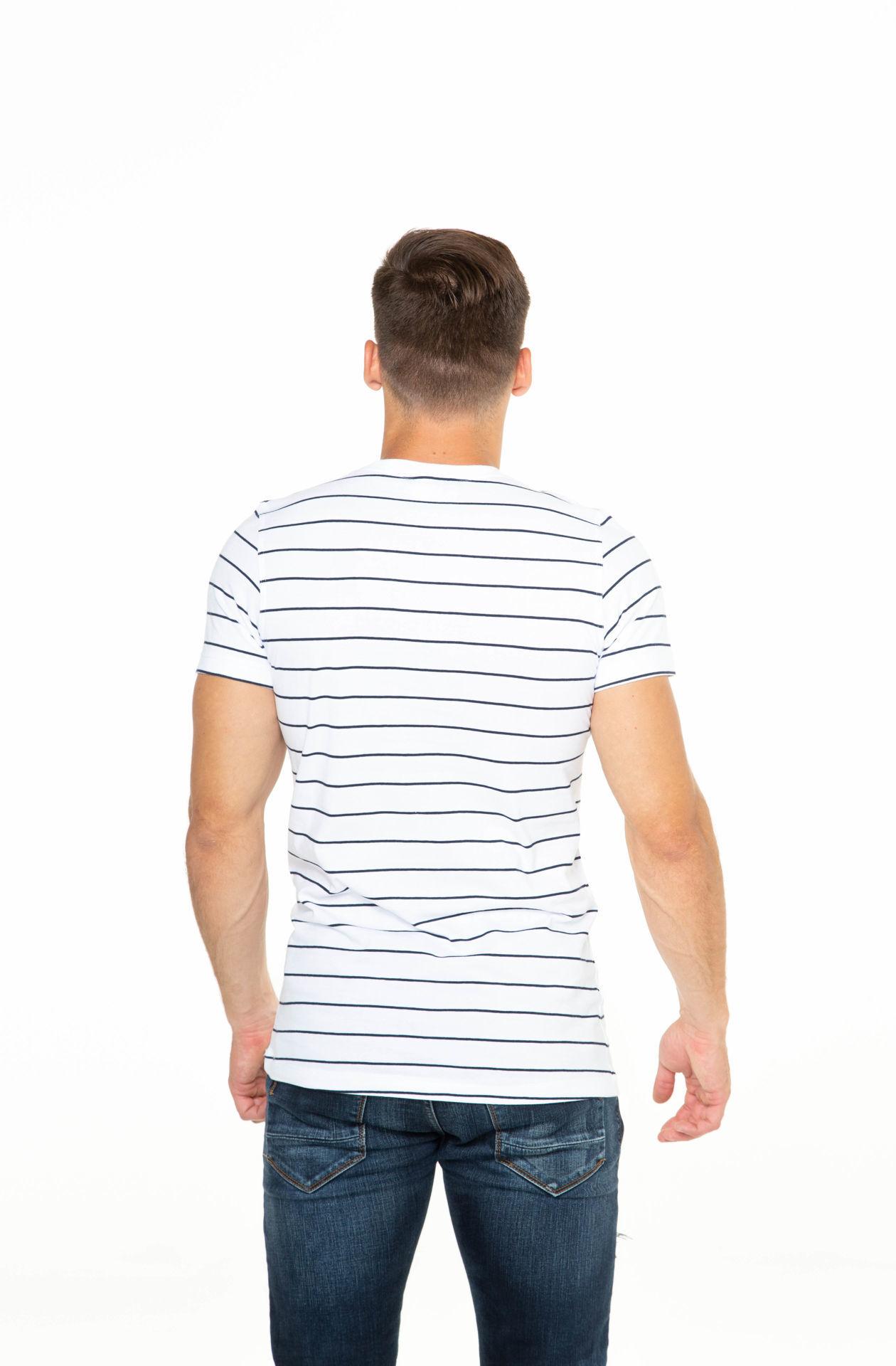 Picture of Muška majica kratkih rukava s prugma