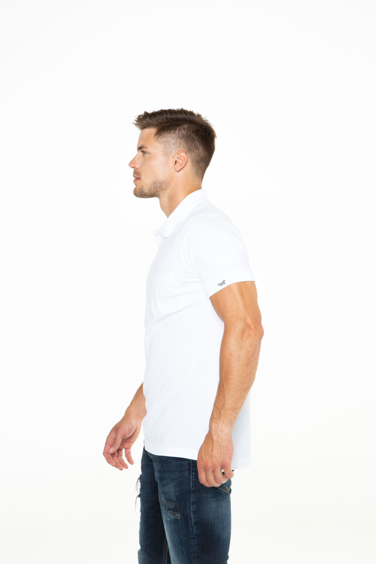 Picture of Men's polo shirt with pocket