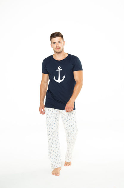 Picture of Dvodijelna muška pidžama s dugim hlačama