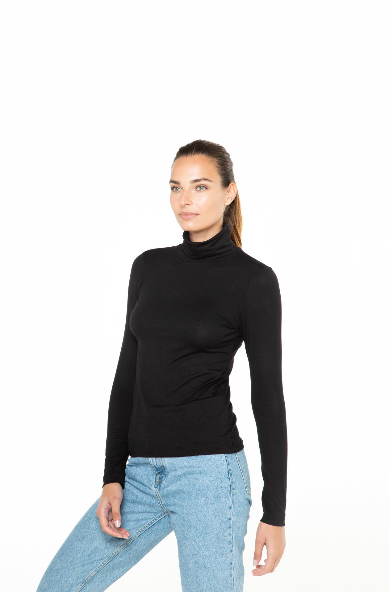 Picture of Women's turtleneck shirt long sleeves