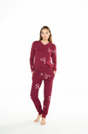 Picture of Women's  cotton pajamas with floral print