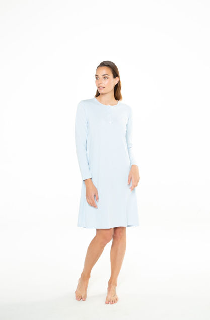 Picture of Women's cotton nightdress with buckles