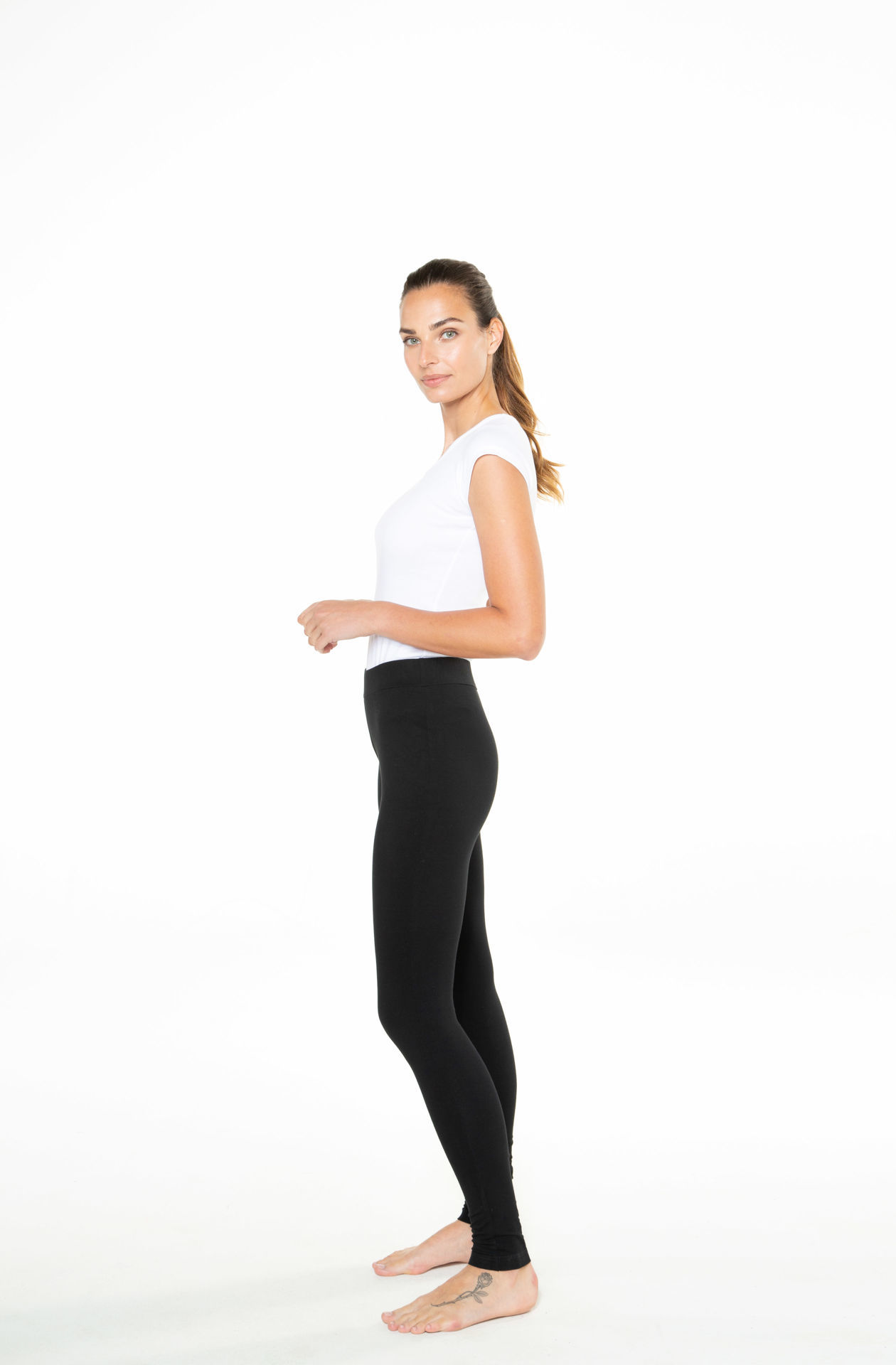 Picture of Women's long cotton leggings