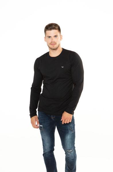 Picture of Muška pamučna majica dugih rukava
