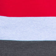 Blue / anthracite / red stripes (6038)