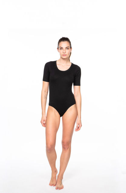 Picture of Women's short-sleeved cotton body