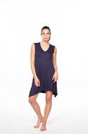 "Picture of Women's asymmetrical dress ""V"" neckline"