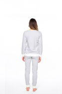 Picture of Women's cotton long-sleeved pajamas