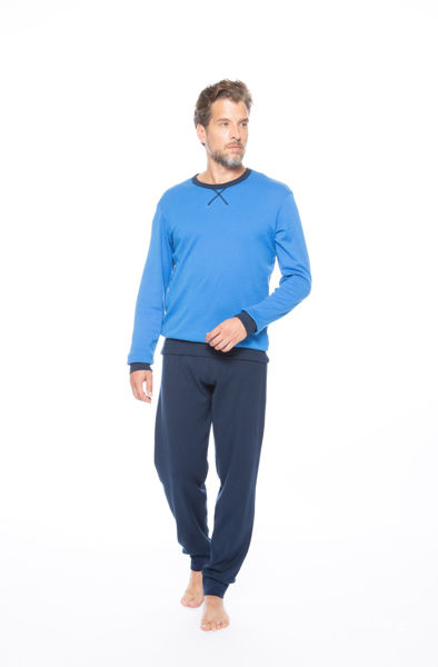 Picture of Men's long-sleeved pajamas