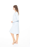 Picture of Women's long-sleeved nightdress with buttons
