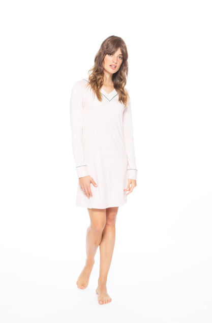 Picture of Women's long-sleeved nightdress